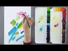 [수채화의 기초] 다양한 수채화 기법 알아보기 - YouTube