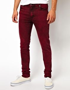 #jeans #red