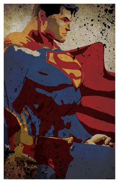 Superhero inspired poster set 11x17 by PosterForum on Etsy