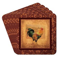 Epic Products Rooster Coasters (Set of 10), Multicolor EPIC https://www.amazon.com/dp/B00J5QOXEE/ref=cm_sw_r_pi_dp_x_MKLSybRD8N661
