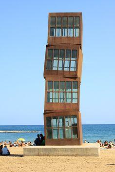 rebecca horn sculpture - barcelona