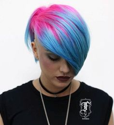 20 Zuckerwatte Frisuren, die so süß wie sein können 20 cotton candy hairstyles that can be as cute as they are candy PHOTO: Bright, vivid hair color is unusual and eye-pleasing. One of the best ways to try out the trend … Messy Bob Hairstyles, Pretty Hairstyles, Bob Haircuts, Medium Hairstyles, Wedding Hairstyles, Hairstyle Men, Men's Hairstyles, Formal Hairstyles, Vivid Hair Color
