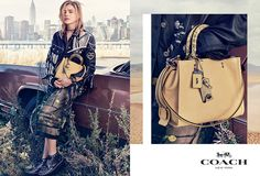 Chloë Grace Moretz for Coach New York Spring 2017 Campaign - nitrolicious.com