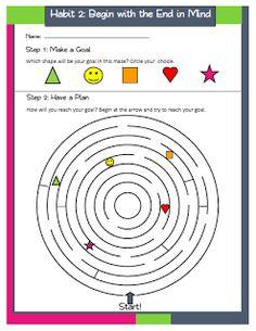 The 7 Habits of Happy Kids Printable Classroom Posters | 7 Habits Ideas | Pinterest