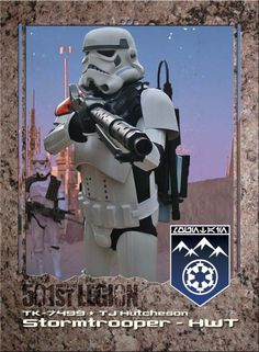 Heavy weapons trooper