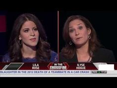***VIDEO***  Lila Rose and Ilyse Hogue debate abortion on CNN Crossfire - GOD BLESS YOU, LILA ROSE!  Keep fighting!
