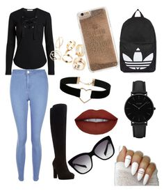 """""""Uni time"""" by justmekissy on Polyvore featuring New Look, Dune, Miss Selfridge, Dolce&Gabbana, CLUSE, Topshop and Agent 18"""
