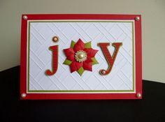Christmas JOY by sistersandie - Cards and Paper Crafts at Splitcoaststampers