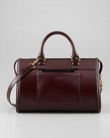 Catherine Box Shoulder Bag, Red/Black