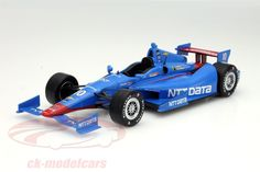 Chevrolet DW12, IndyCar Series 2015, No.10, Tony Kanaan, Chip Ganassi Racing Teams. Greenlight, 1/18. Price (2016): 40 EUR.