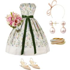 """A Simple Bride"" by nancyshops on Polyvore"
