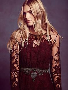 Decadent Embroidered Maxi Dress | ALL FUN USA Hot Fashion Tips