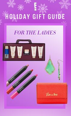 Clothes, shoes, accessories and more. These fabulous gifts are the perfect way to show the women in your life how much you care!
