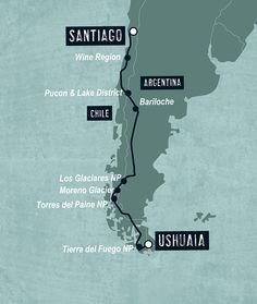 Patagonia & Tierra del Fuego between Santiago and Ushuaia - KILROY