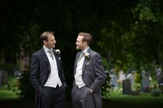 groom and the best man