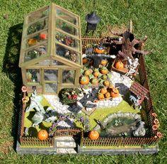 Halloween garden for the wee folk