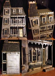 SOLD Miniature Spooky Victorian Dollhouse Includes Massive Home Accessories