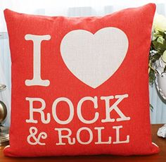Caryko Home Decor Fashion Square Cotton Linen Throw Pillow Case (Rock&Roll) Caryko http://www.amazon.com/dp/B010E1993I/ref=cm_sw_r_pi_dp_QRbJvb03E8RYF