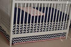 life's little moments: nursery projects {DIY crib skirt}