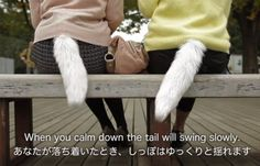 For Wannabe Felines: Robotic Tail Wags or Swings, Depending on Your Mood