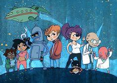 Futurama! this is too cute