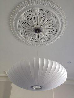 Sydney Home Nelson Saucer Pendant Lamp Design #lighting #ceilingrose #sydney