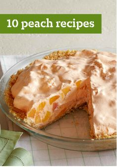 10 Peach Recipes – If you think of seasonal desserts like Peach Cobbler when you think of peach recipes—well, we don't blame you. But, ripe peaches bring out the best in other ingredients in all kinds of savory dishes, too!