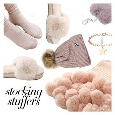 """#PolyPresents: Stocking Stuffers"" by dressedbyrose ❤ liked on Polyvore featuring contestentry and polyPresents"