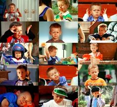 Great moments of James Lucas Scott.  Couldn't have picked a cuter little boy to play this part.