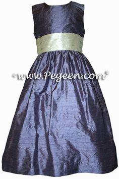 flower girl dresses Purple flower girl dresses | Big Fashion Show girls dresses