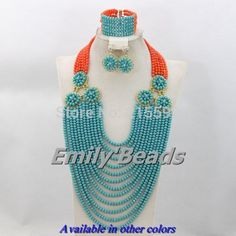 Find More Jewelry Sets Information about Pink Coral Beads Mix Teal Blue Crystal Beads Jewelry Set African Costume Wedding Bridal Jewelry Set Free Shipping AES890,High Quality beaded lace wedding dress,China beaded bra Suppliers, Cheap bead wristband from Emily's Jewelry DIY Store on Aliexpress.com
