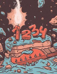 1234! Aniversari – grafficants.com