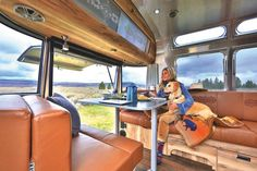 Airstream teamed up with Pendleton Woolen Mills to create 100 limited edition travel trailers that are perfect for touring the grand National Parks in comfort and style.
