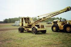 Old truck crane