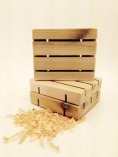Ready to Ship THREE Cedar Natural Wood Spa by PineBranchDesigns