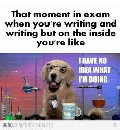 Exams...