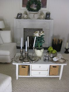 miniatyrmama. Another great fireplace idea