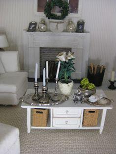 miniatyrmama. Another great fireplace idea
