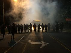 Charlotte, NC after another black man shot by police, Sept 2016
