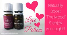 DIY love potions to support a healthy libido #sexytime #essentialoils Essential Oil For Men, Essential Oil Jewelry, Natural Essential Oils, Young Living Essential Oils, Essential Oil Blends, Young Living Diffuser, Young Living Oils, Yl Oils, Doterra Oils