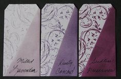thinking the middle purple, or were you thinking a lighter or brighter colour?  distress ink Seedless Preserves - Google Search