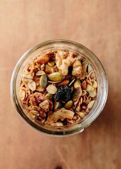 Recipe: Cambria's Granola with Pecans, Cherries & Coconut — Breakfast…