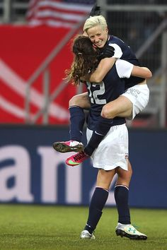 I certainly don't agree with all the calls the ref made in the US vs. Germany game. Cheney's goal should have counted. They'd better be glad this is only a friendly, not to mention Rampone's yellow card?! So frustrating.
