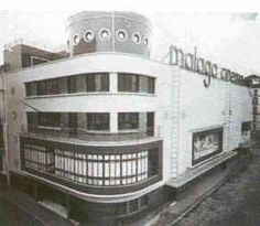Streamline Moderne — Lost streamline moderne in Málaga, Spain. Malaga, Streamline Moderne, Spain, Art Deco, Cinema, Dreams, Lost, Andalusia Spain, Old Photography