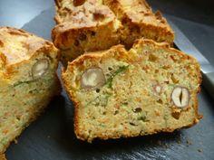 Cake à la ricotta, carotte, roquette et noisette   Blog de cuisine bio : Le cri de la courgette...