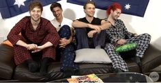 Lol I am going to sleep and thought 5sos in pajamas was a good pin to use goodnight!!<------ awhhh that's perfect ily.