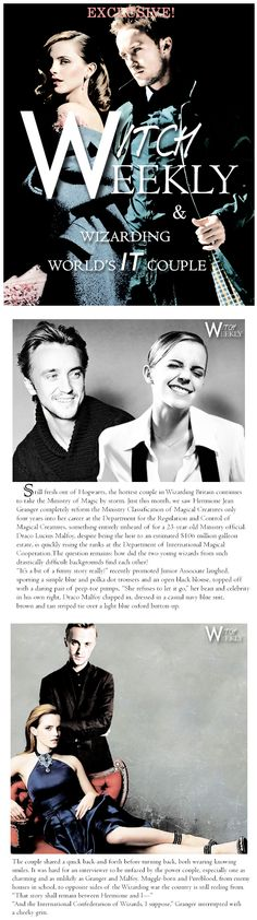 #Dramione #WitchWeekly