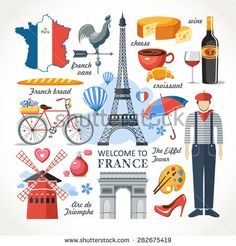 Find Welcome France Romance Set stock images in HD and millions of other royalty-free stock photos, illustrations and vectors in the Shutterstock collection. Thousands of new, high-quality pictures added every day. Cultures Du Monde, World Cultures, Illustration Parisienne, France Drawing, France Map, City Icon, Paris Images, Visit France, Oui Oui