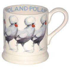 Polish Hen Bridgewater Mug