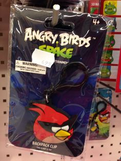 Angry Bird backpack clip